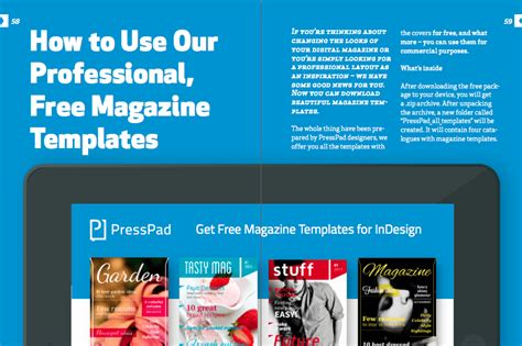 How To Publish A Digital Magazine App Without Expensive Software Magazine Template App