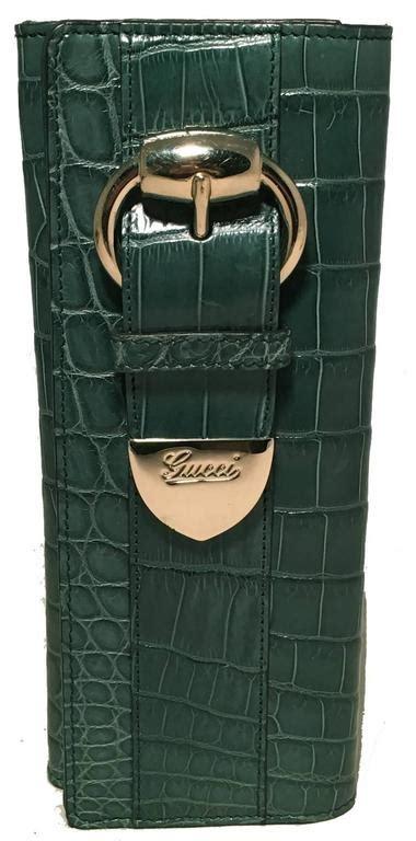 Dompet Gucci Envelope Embossed Wallet 1042 gucci green alligator wallet clutch for sale at 1stdibs