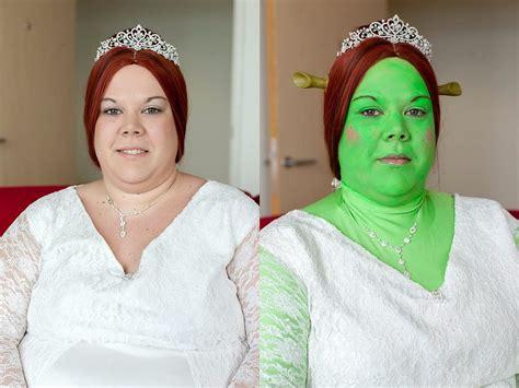 real life shrek wedding свадьба шрека и фионы чудаки мир в фотографиях день за