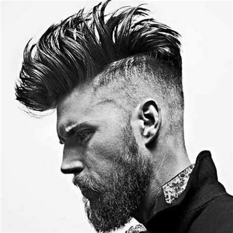 Faded Mohawk Hairstyles by The Taper Fade Haircut Types Of Fades S Hairstyles