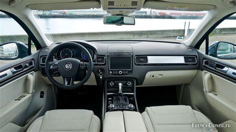 volkswagen touareg 2016 interior essai du volkswagen touareg le confort sans effort