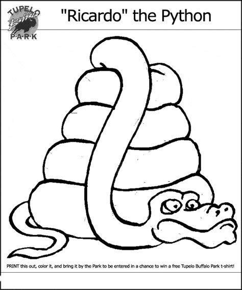 python coloring page animals town animals color sheet