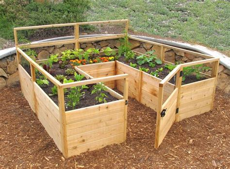 Small Livingrooms 24 amazing ideas for wooden raised garden beds page 5 of 5