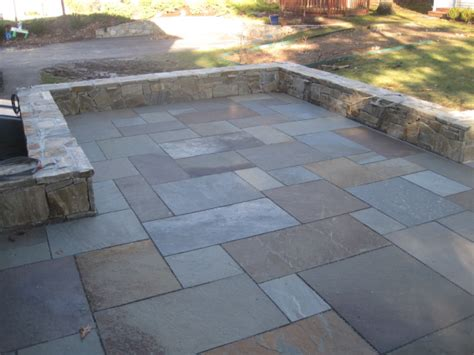 Bluestone Patio Images by Pin Irregular Blue Patio On