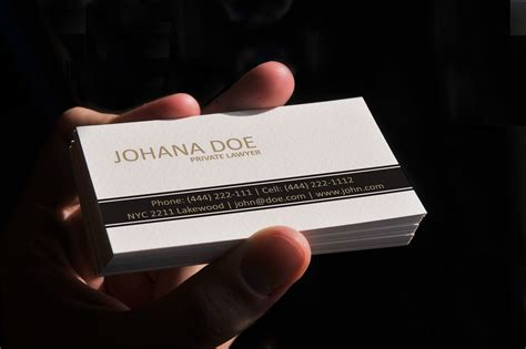 lawyer business card template simple lawyer business card template vector
