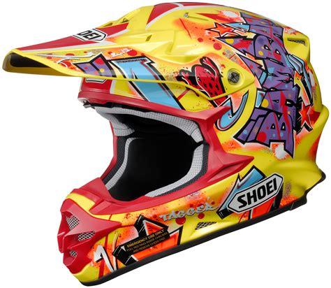 shoei motocross helmets closeout shoei vfx w barcia moto road helmet closeout ebay