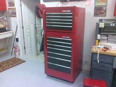 garage fridge      toolbox