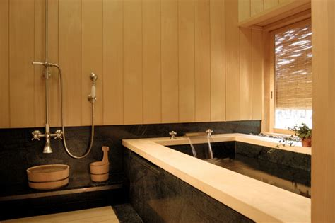 asian bathtub japanese style bathing room with granite soaking tub asian bathroom san