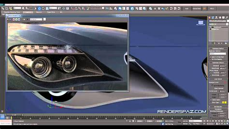 vray sketchup car paint tutorial tutorial vray car headlights led s youtube