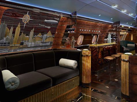 a unique place in art deco sobe private vrbo this 83 million private jet has a stunning art deco