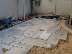 how to install bluestone patio how to install a blue patio