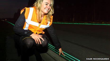 glow in the paint mumbai glowing smart cycle lanes are pitched to uk news