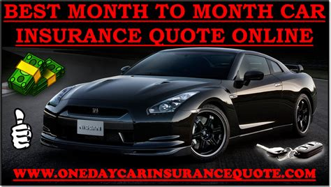 Cheap Car Insurance 1 Month by 1 Month Car Insurance Cost In Usa With Cheap Rates