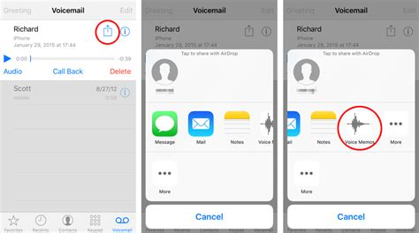 iphone voicemail voice memos the iphone faq