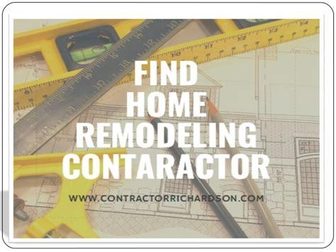 find home remodeling contractor in san deigo