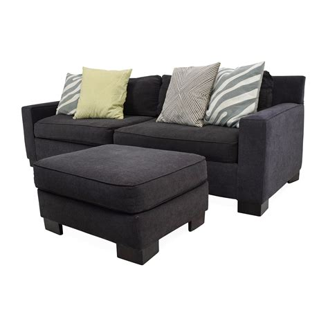 50 Off West Elm West Elm Sofa With Ottoman Sofas