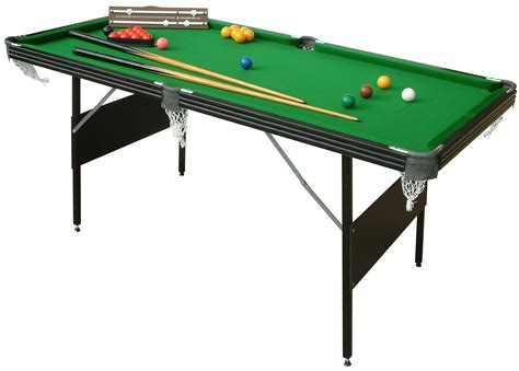 Folding Pool Table 6ft Crucible 6 Foot 2 In 1 Folding Snooker Pool Table Liberty
