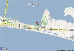 where is destin florida located on the florida map map of bay club of sandestin destin