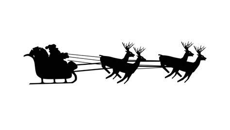 santa sleigh stock footage video shutterstock