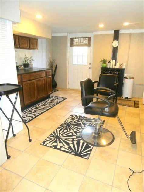 Kitchen Hair Studio Home Salon Salons And Basements On