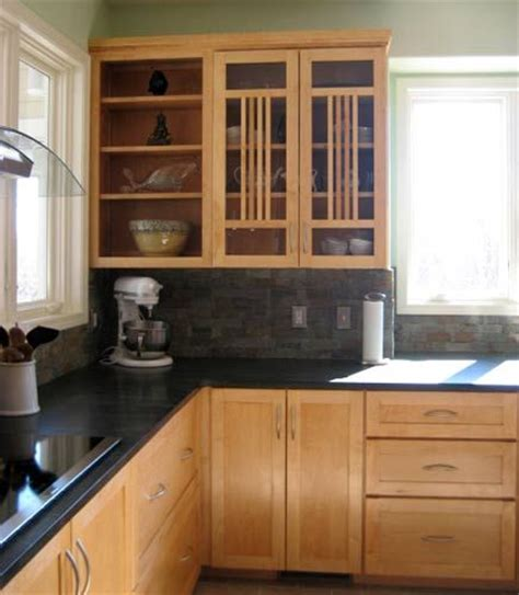 Soapstone Cabinets by Maple Cabinets And Soapstone Countertops Kitchen
