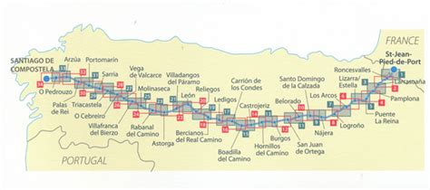 map of camino de santiago camino de santiago map booklet 160 michelin maps books