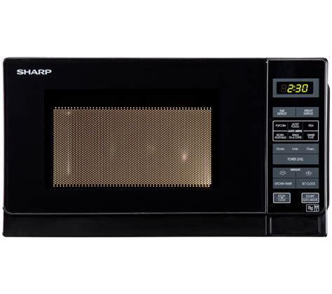 Microwave Sharp R230r S buy sharp r272km microwave black free delivery currys