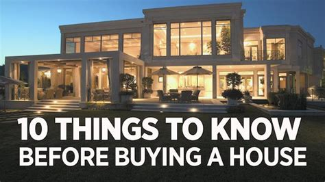 things i need to know when buying a house stocks 10 things you need to know