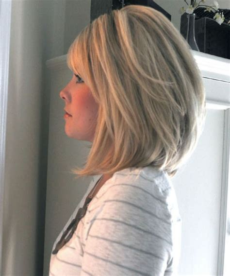 mid length hair cuts longer in front best 25 medium stacked bobs ideas on pinterest stacked