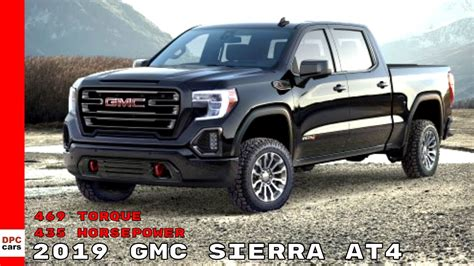 2019 Gmc Horsepower by 2019 Gmc At4 With 435 Horsepower