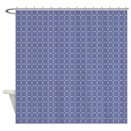 periwinkle shower curtain geopolka periwinkle shower curtain by kippygocontempo