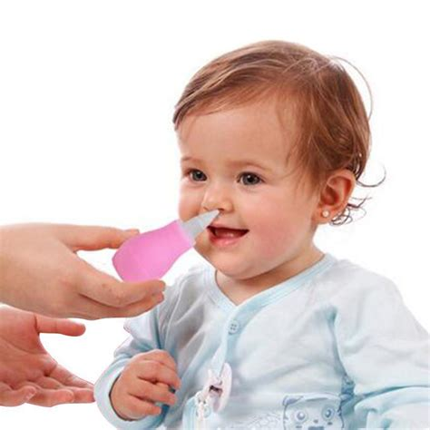 baby comfort nose toddler baby nasal vacuum mucus suction aspirator tip