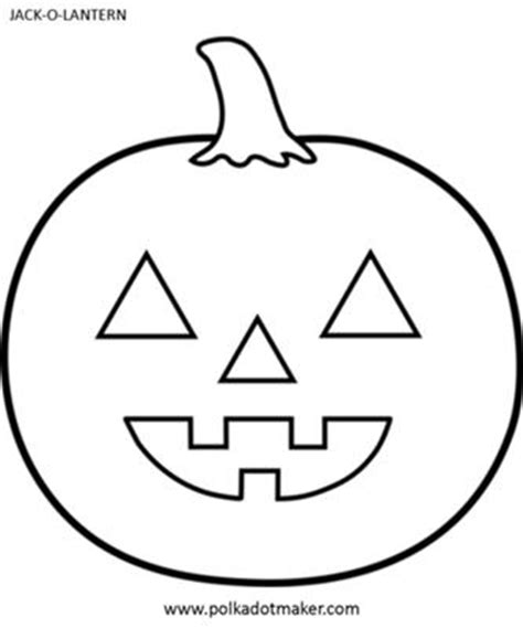 printable picture of jack o lantern jack o lantern template