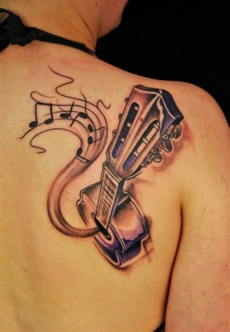 tattoo on your shoulder song mp3 download 55 guitar tattoo designs and ideas for men and women
