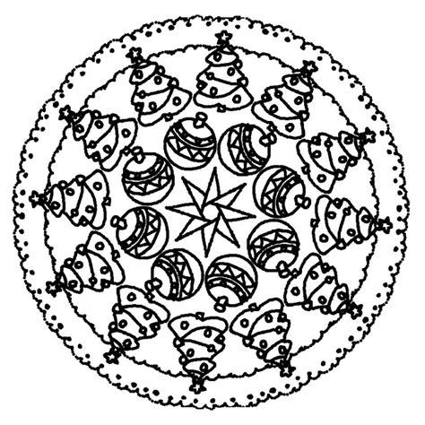 dibujos de navidad mandalas para colorear dibujo para colorear mandalas de navidad 9