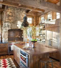 Kitchen Rustic Design Rustic Ski Lodge Home Bunch Interior Design Ideas