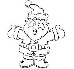 dibujos de navidad pap noel gracioso para colorear dibujo de papa noel feliz para colorear