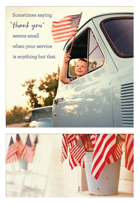 Sacrifice and Service Religious Veterans Day Card