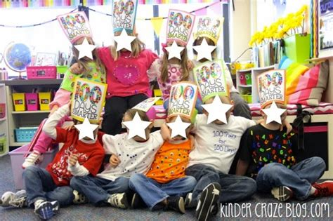 100 events that made 100th day of ideas for kindergarten