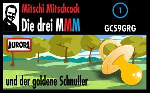 gc59grg die drei mmm und der goldene schnuller (multi
