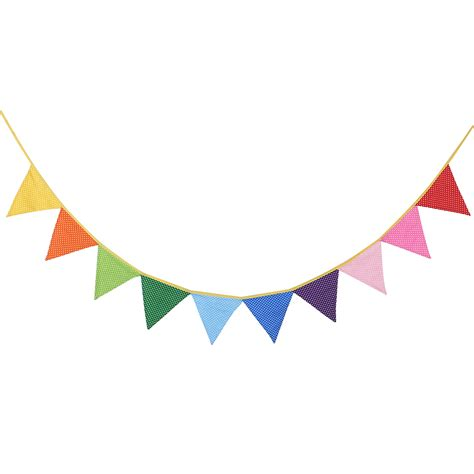 Banner Flag Hello Bunting Flag Motif Hello 1 10pcs triangle shape bunting flag polka dots floral plaid pattern banner children birthday