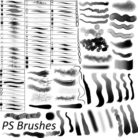 sketchbook pro brushes for photoshop 15 free photoshop drawing painting brush sets graphicsfuel