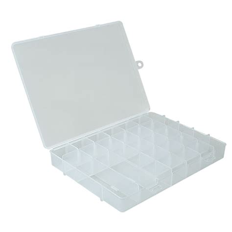 sectioned storage containers divided plastic storage case 22 compartment in divided
