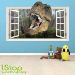 dinosaur wall stickers art kids littlesaurus littleprints