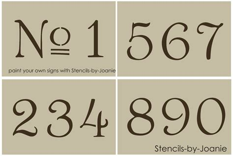 free printable vintage number stencils french old vintage style number stencil 3 paris chic