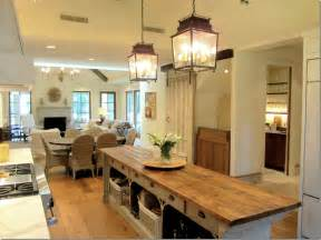 Skinny Kitchen Island wood island here you can see how the island opens up on one side this