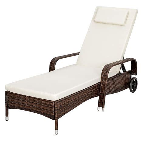 chaise longue magasin chaise longue en rotin brun magasin en ligne gonser