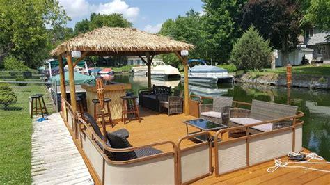 tiki hut boat for sale 1000 ideas about pontoon boats on pinterest pontoons