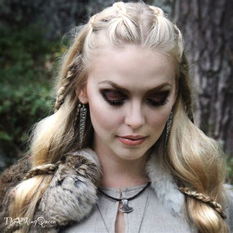 viking hairstyles history about viking hairstyles vikings and makeup
