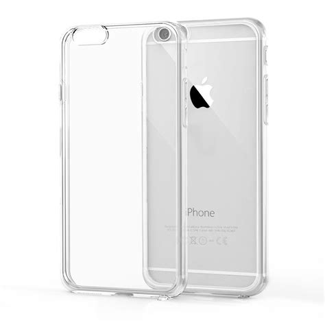 transparent clear soft silica gel tpu silicone coque for iphone x 5 5s se 5c 6 6s 7 8 plus